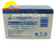 Ắc quy Power Sonic PS-1270 F2( 12V/7Ah)