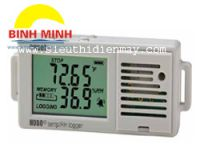 Temperature & RH logger with DisplayCode: UX100-003